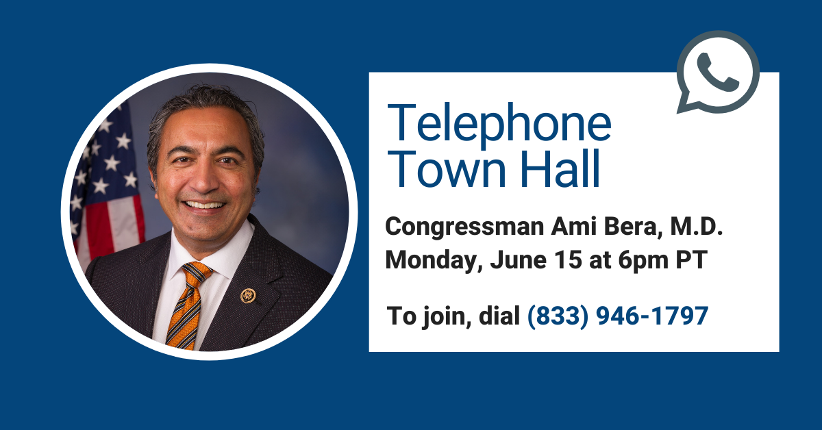June 15 Telephone Town Hall