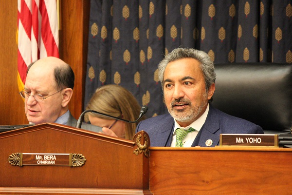 Rep. Bera chairs coronavirus hearing