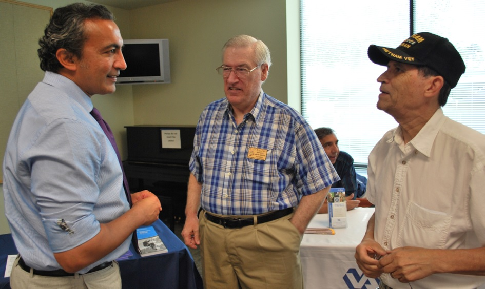 I met with local veterans at my office's Veteran's Summit, where my staff and I worked to connect Sacramento County veterans with resources and services, such as employment training and health care.